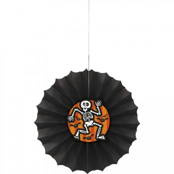Eventail Déco Squelette (30 cm)