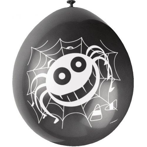 10 Ballons Araignée