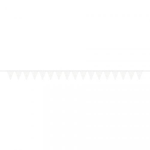 Guirlande Fanions Flocons de Neige ajourés