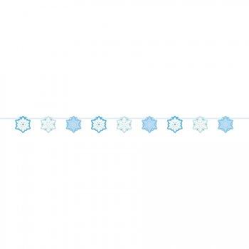 Guirlande Bannière Flocons de Neige