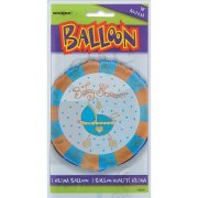 Ballon � Plat Baby Shower gar�on