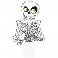 12 pics squelettes Halloween
