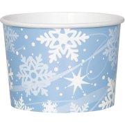 8  Pots � Glace Flocons de Neige