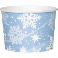 8  Pots à Glace Flocons de Neige