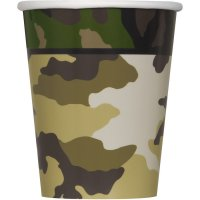 Contient : 1 x 8 Gobelets Camouflage