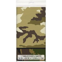 Contient : 1 x Nappe Camouflage