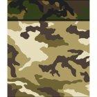 8 Pochettes � cadeaux Camouflage