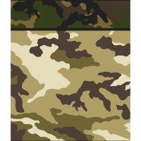 Contient : 1 x 8 Pochettes à cadeaux Camouflage