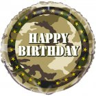 Ballon à Plat Camouflage