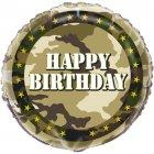 Ballon � Plat Camouflage