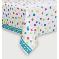 Contient : 1 x Nappe Happy Birthday Confetti