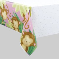 Contient : 1 x Nappe Ouistiti Baby Girl