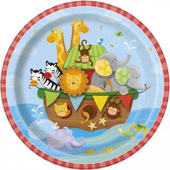 8 Petites Assiettes l Arche de Noé