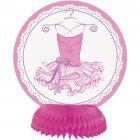 4 Mini Centres de table Pink Ballerine
