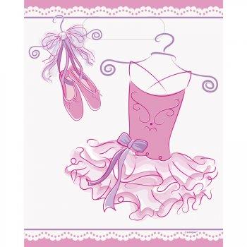 8 Pochettes à Cadeaux Pink Ballerine