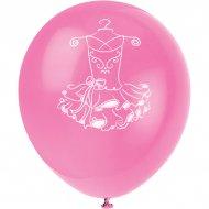 8 Ballons Pink Ballerine