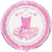 Ballon Gonflé à l'Hélium Pink Ballerine