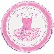 Ballon Hélium Pink Ballerine