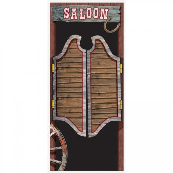 Affiche de porte Rodeo Western
