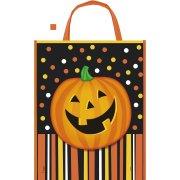 1 Sac Cadeau Smiling Pumpkin