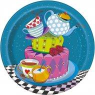 8 Petites Assiettes Thé et Merveilles