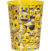 Grand Gobelet Emoji Fun (30 cl) - Plastique