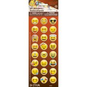 24 stickers Vinyle Emoji Smiley