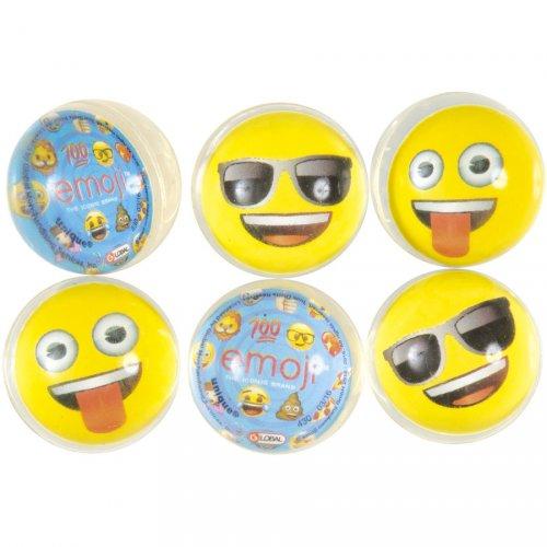 6 Balles Rebondissantes Emoji Smiley