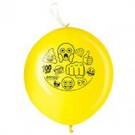 2 Ballons Punchball Emoji Smiley