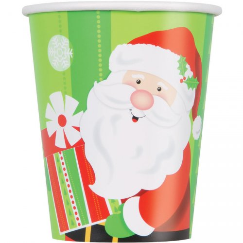 8 Gobelets Gentil Père Noël