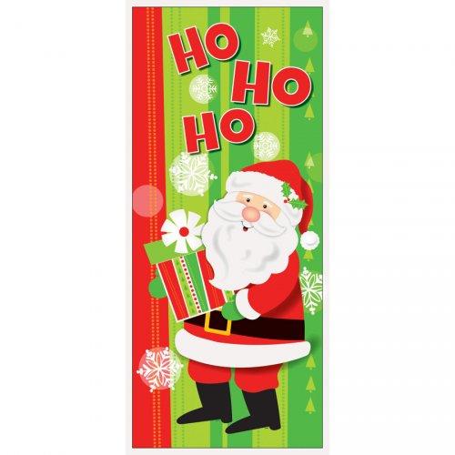 Affiche de porte Gentil Père Noël