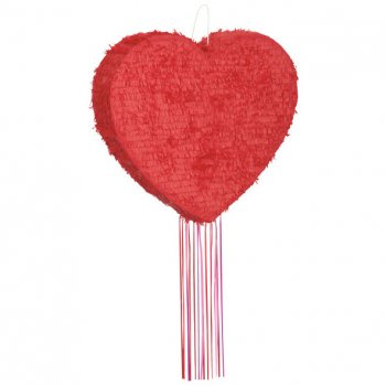 Pull Pinata Coeur Rouge