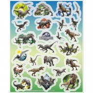 96 stickers Jurassic World