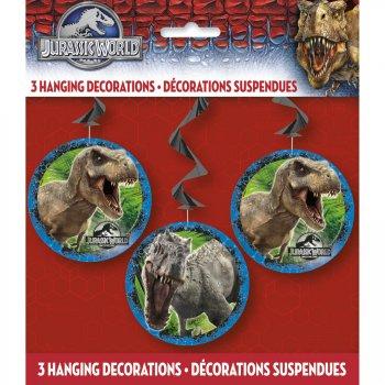 3 Guirlandes Spirales Jurassic World