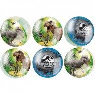 6 Balles Rebondissantes Jurassic World (3 cm)