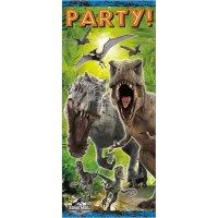 Contient : 1 x Affiche de porte Jurassic World (1,52 m)