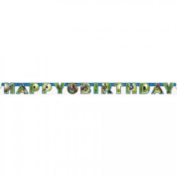 Guirlande Happy Birthday Jurassic World