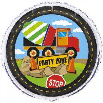 Ballon Mylar Construction Party