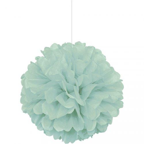 Boule Papier Frou frou Vert Menthe (40 cm)