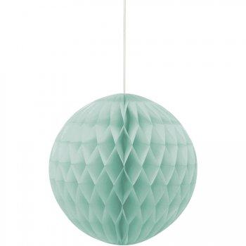 Boule Papier 3D Vert Menthe (20 cm)