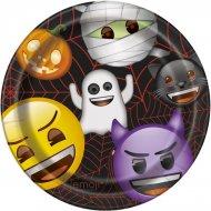 8 Assiettes Emoji Halloween