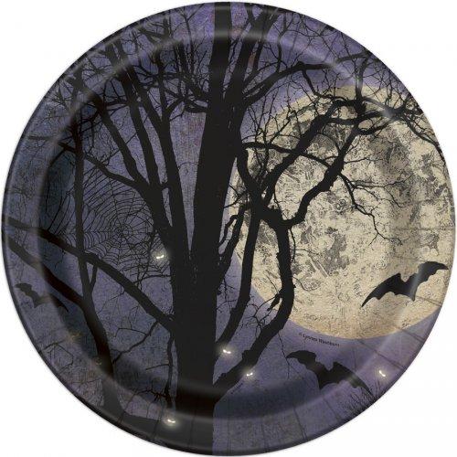 8 Assiettes Halloween Night