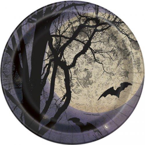 8 Petites Assiettes Halloween Night