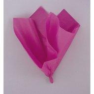 10 Feuilles Papier de Soie Fuchsia