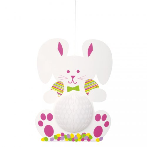 Suspension Lapin 3D Maxi (35 cm)