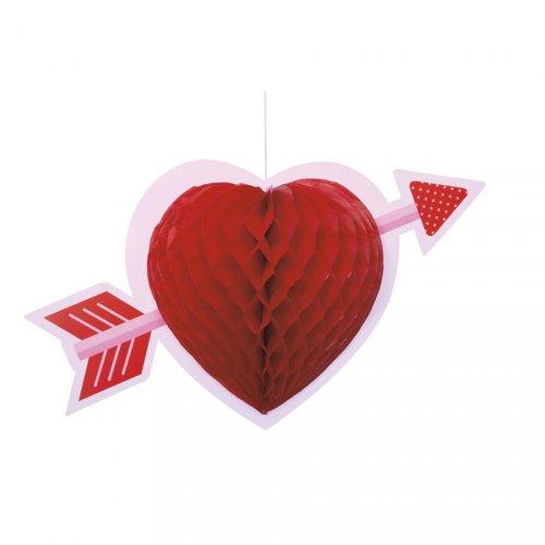 Suspension Coeur Amoureux (35 cm)