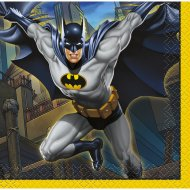 16 Petites Serviettes Batman DC