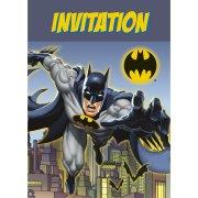 8 Invitations Batman DC