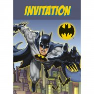8 Invitations Batman DC