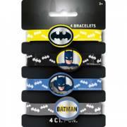 4 Bracelets Batman DC - Silicone